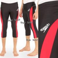 celana renang pria dewasa 7/8 celana renang panjang speedo - Biru, M
