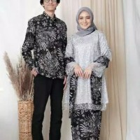 batik couple kebaya modern brukat terlaris baju couple batik terbaru