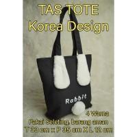 Korea Cool Tote Bag / Tas Selempang kanvas import kelinci