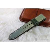 Tali Jam Tangan Kulit || Animal Leather Strap || Soft Green