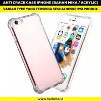 Anti Crack mika Case For all tipe IPHONE