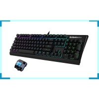 SteelSeries Apex M650 RGB Mechanical Keyboard Blue Switch