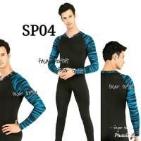 baju renang pria dewasa baju diving panjang unisex baju selam motif