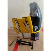 Fairing Bejita Ninja R S model KR150 SSR plus lampu projie