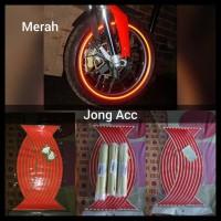 Hot List Stiker Velg Pelek Ban Motor Mobil Lampu Nyala Reflektiv