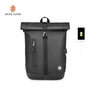ARCTIC HUNTER B00283 Backpack Bag USB 15.6 - Tas Ransel Laptop BLACK
