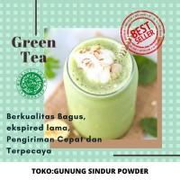 BUBUK MINUMAN GREEN TEA /Premix Green tea Powder / 1Kg