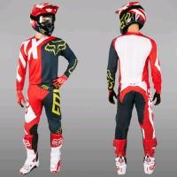 Fox Baju dan celana balap custom motocross trail adventure trial tr