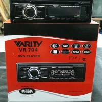 Singledin Varity VR 704 - DVD MP4 USB SD FM Aux Player - 1din Headu