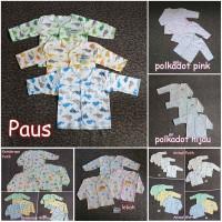 GROSIR 1 LUSIN Baju Panjang Bayi SNI Saffenda Newborn 0-3 bln