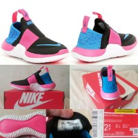 Nike Nitroflo Authentic Black Blue Pink Sale sz 32&34/ Sepatu Ori USA