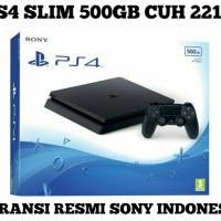 PS4 SLIM 500 GB CUCH 2218A GARANSI RESMI SONY INDONESIA 2 TAHUN