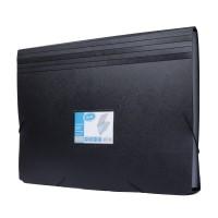 Bantex Expanding File Folio Black #3601 10