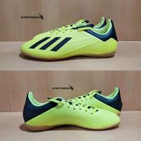 Adidas Futsal X Tango 18.4 IN - Yellow. Sepatu Futsal Adidas Original.