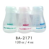 3pcs Botol Penyimpan Penyimpanan saver Asi 120 ML NINIO BA2171