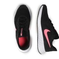 Sepatu Running Wanita Nike Revolution 5 Black Pink Original BNWB Murah