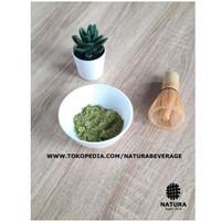 PURE Matcha green tea powder 100 gram bubuk CEREMONIAL grade