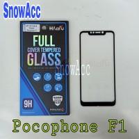 Hikaru Anti Gores Tempered Glass Xiaomi Pocophone F1 Full Cover