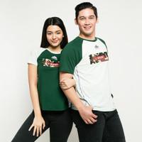 METALIZER 1078 3094 T-Shirt Spesial Baju Kaos Couple Katun Premium - Misty Green, M