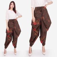 Celana Panjang Cini Longpants Aladin Jogger Batik Wanita