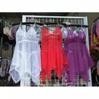 SEXY LINGERIA BABYDOLL /DRESS SLEEPWEAR G-STRING / BAJU TIDUR SEXY