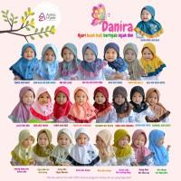 Hijab instan anak balita bayi jilbab kaos Danira Azkia Hijab