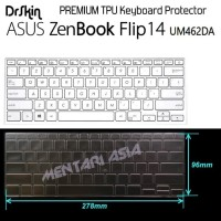 Keyboard Protector ASUS Zenbook Flip 14 UM462DA - PREMIUM TPU Clear