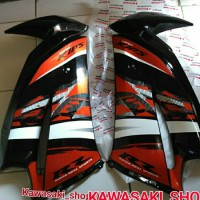 cover sayap fairing ninja rr new orange special edition 2014 kar hij