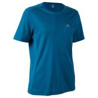 Decathlon Kalenji Kaos Lari Dryfit Pria Petrole biru - 8519871