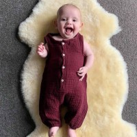 Lucu ♡•Baju Katun Bayi Lahir Jumpsuit