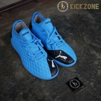 Sepatu Futsal Puma Future 5.4 IT Blue Energy Original 10580401