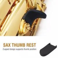 Karet Jempol Saxophone Rubber Thumb Rest Alto Tenor Soprano Sax KS-01