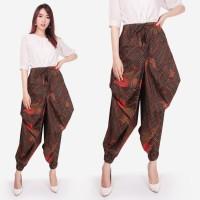 Celana Batik Gusmi Long Pants Aladin Jogger Wanita