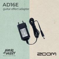 Adaptor Power Supply Efek Gitar Zoom AD16E 9 Volt 500mA Original