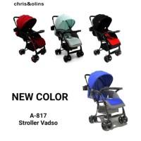 stroller Chris & Olins - vadso A 817 - stroller baby - bayi - Merah