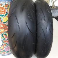 ban dunlop d214 120-70 180-55 not unbeaten gp pirelli supercorsa