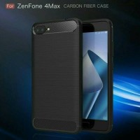 Softcase Zenfone 4 Max - Case Ipaky Carbon Asus Zenfone 4 Max Pro 5.5