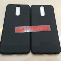Soft Case Silikon Pelindung Black Matte Huawei Nova 2i
