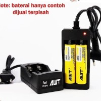 Charger AWT 2 Slot Fast charging battery IMR 18650
