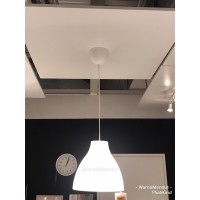 WM IK7980 MEL Lampu gantung minimalis putih diameter 28 cm (satuan)