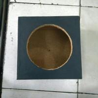 Box speaker 6 inch kayu kotak tahu ukuran 23, 5cmx 23,5cm x15cm