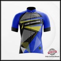 Jersey Kaos Baju Sepeda Trail MTB Dewasa Custom Fullprint Free Desain