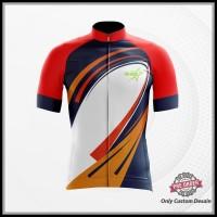 Jersey Kaos Baju Sepeda Trail MTB Dewasa Custom Fullprint Terbaru