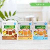 Promina Arrowroot Biskuit Bayi - Coklat Keju Susu