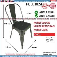 Kursi Susun Kursi Cafe Kursi Restoran Kursi Makan FULL Besi D401