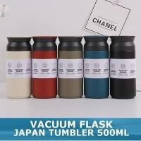 JAPAN TERMOS STAINLESS STEEL TRAVEL TUMBLER - TAHAN PANAS MIN 8 JAM - Hitam