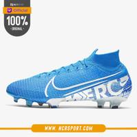 Sepatu Bola Nike Mercurial Superfly 7 Elite FG Blue Hero Original AQ4