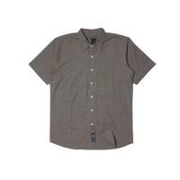 Kemeja Pria Lengan Pendek Polos Monochrome SS Khulula Shirt