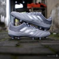 Sepatu Bola Adidas Copa 20.3 FG Grey/Silver - [EF8329] BNIB