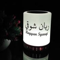 Audio Murrotal Al Quran Lampu Tidur LED